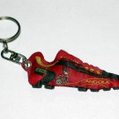 Key fob in padded fabric