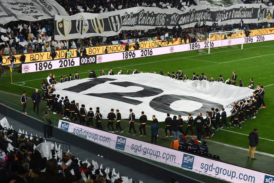 Happy 120° Birthday Udinese